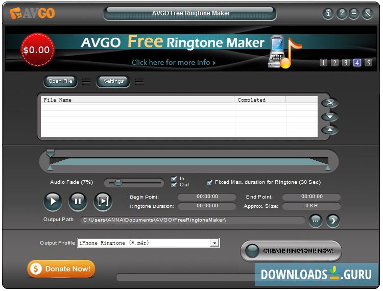 free ringtone cutter and joiner software download