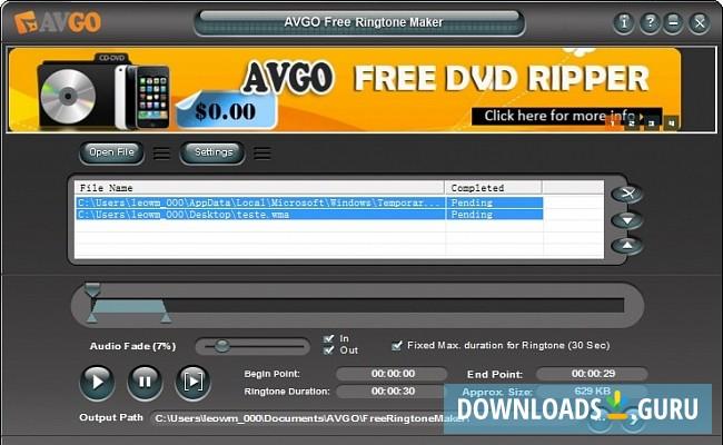 ringtone maker software free download full version for windows 8