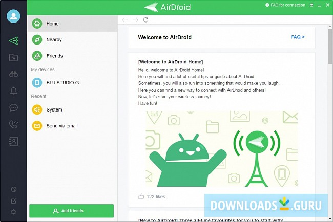 Download AirDroid for Windows 10/8/7 (Latest version 2019