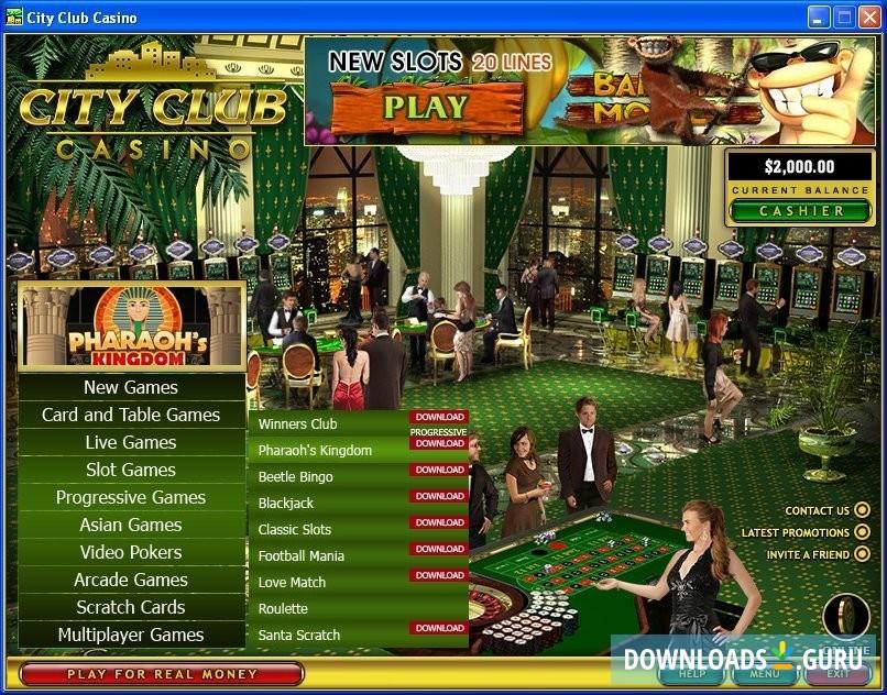 Club Casino Download