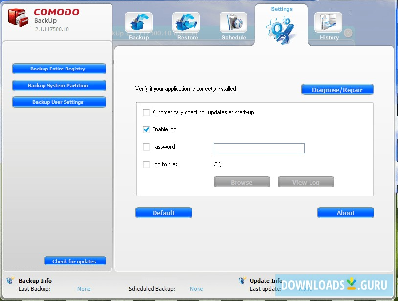 Download Comodo Backup for Windows 10/8/7 (Latest version ...