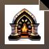 Download Crystal Fireplace 3D Screensaver