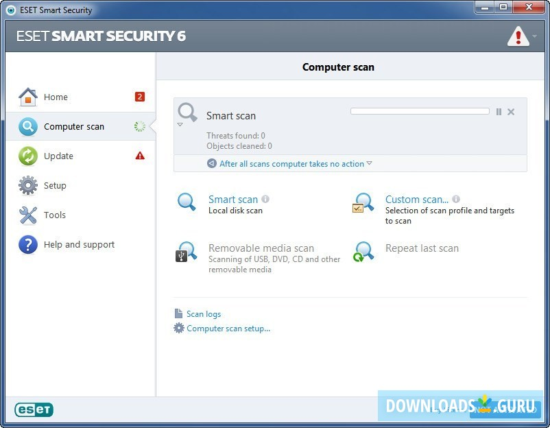 Download ESET Smart Security for Windows 10/8/7 (Latest
