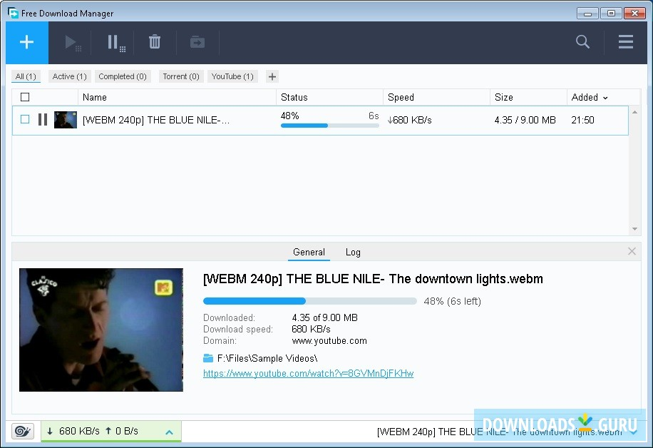 Download Free Download Manager for Windows 10/8/7 (Latest version