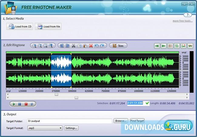 online mp3 cutter ringtone maker
