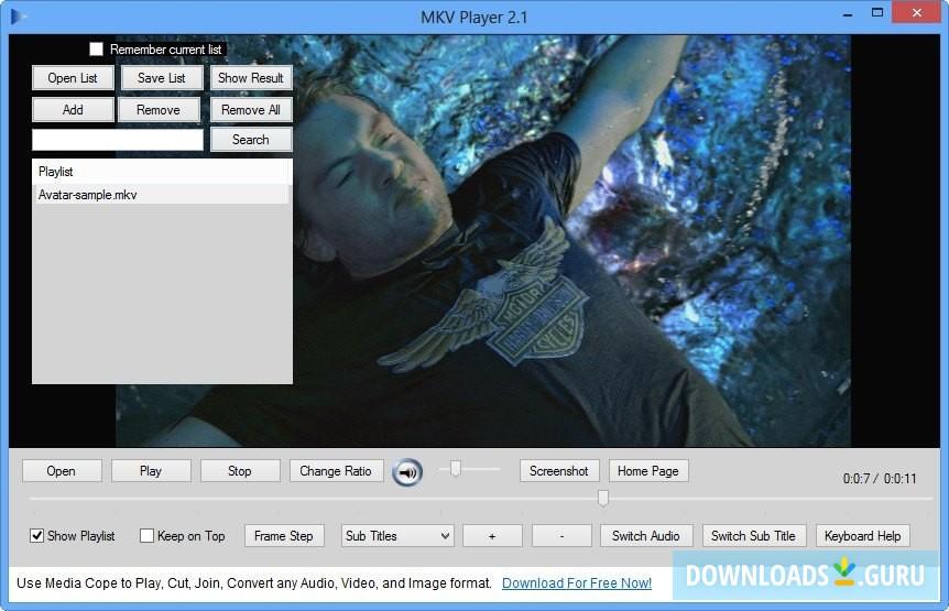 MKV Player for Windows - Download