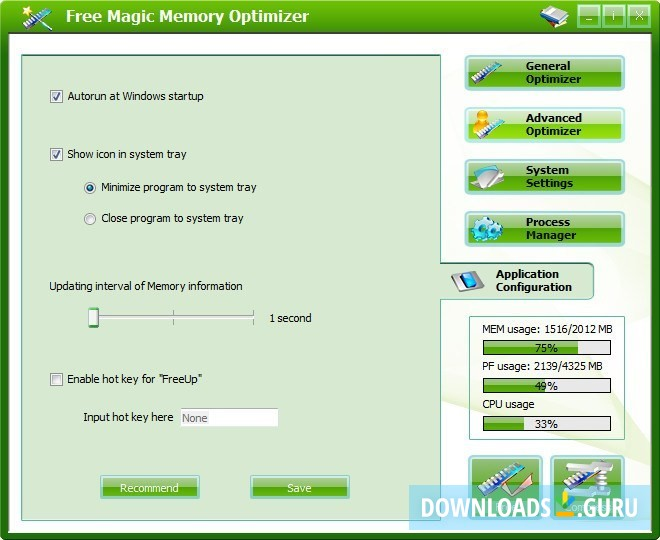 Download Magic Memory Optimizer for Windows 10/8/7 (Latest ...