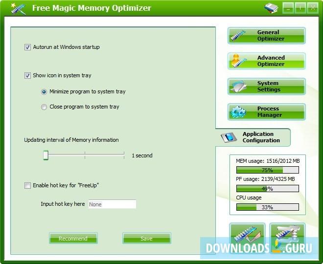 Download Magic Memory Optimizer for Windows 10/8/7 (Latest ...