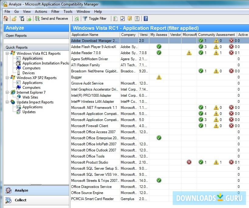 Download Microsoft Application Compatibility Toolkit for ...