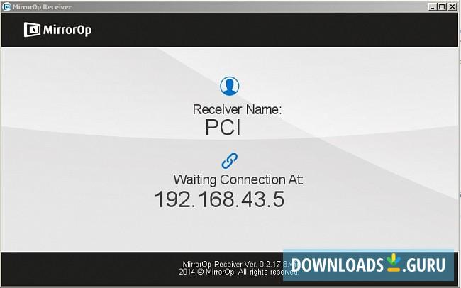 Download MirrorOp Sender for Windows 10/8/7 (Latest version 2019) -  Downloads Guru