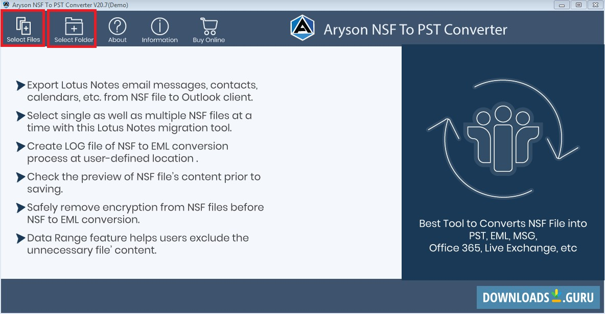 Aryson MSG Converter