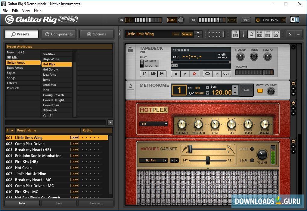 Native Instruments Guitar Rig 5