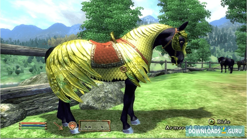 how to get horse armor in oblivion