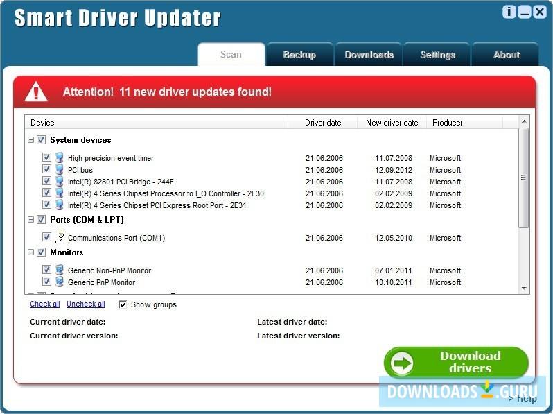 Download Smart Driver Updater for Windows 10/8/7 (Latest version ...