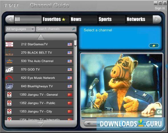 tvu channel guide