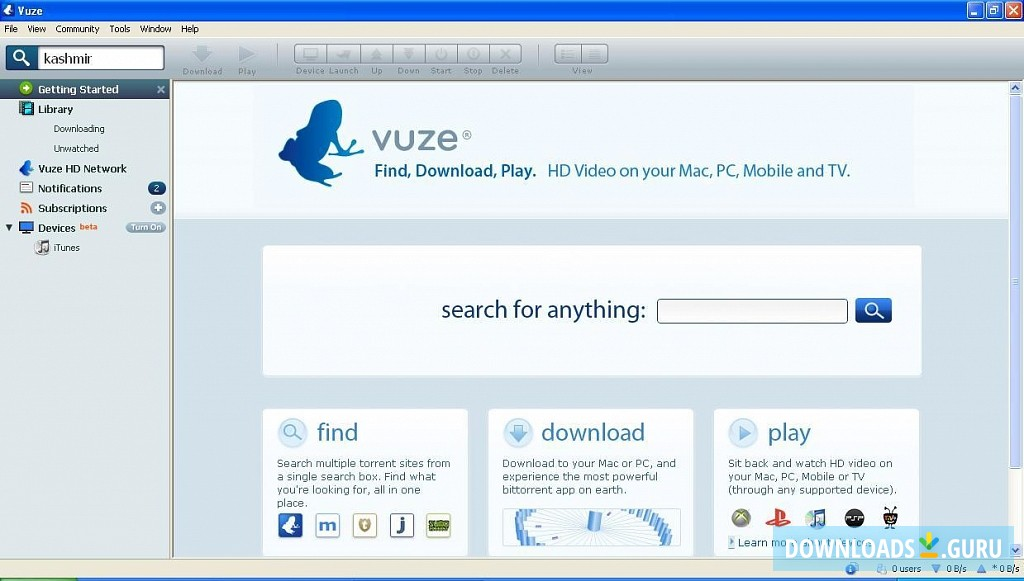 Download vuze for windows 8 64 bit | √ Vuze (32  2019-07-03
