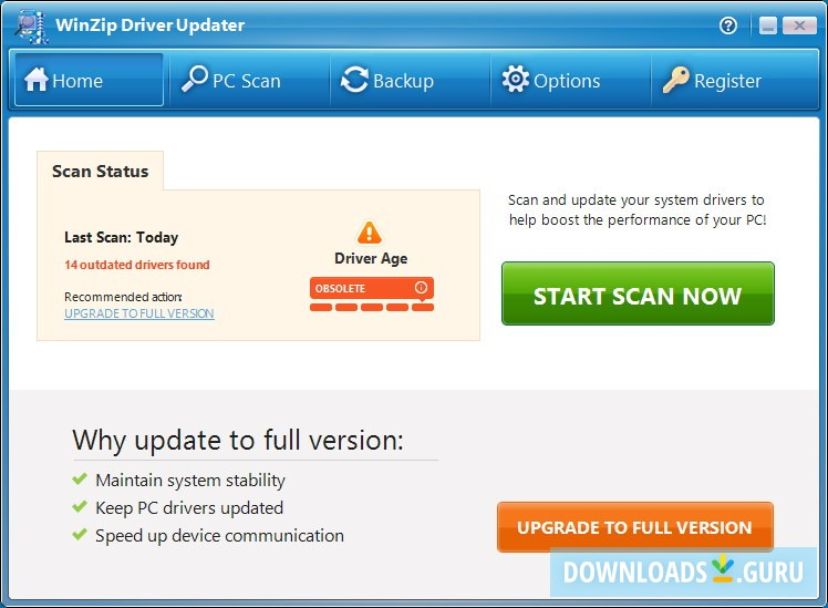 winzip driver updater 5.27.0.26 license key 2018