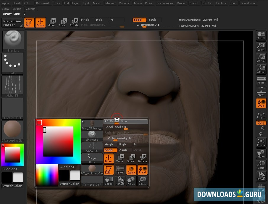 Download ZBrush for Windows 10/8/7 (Latest version 2019