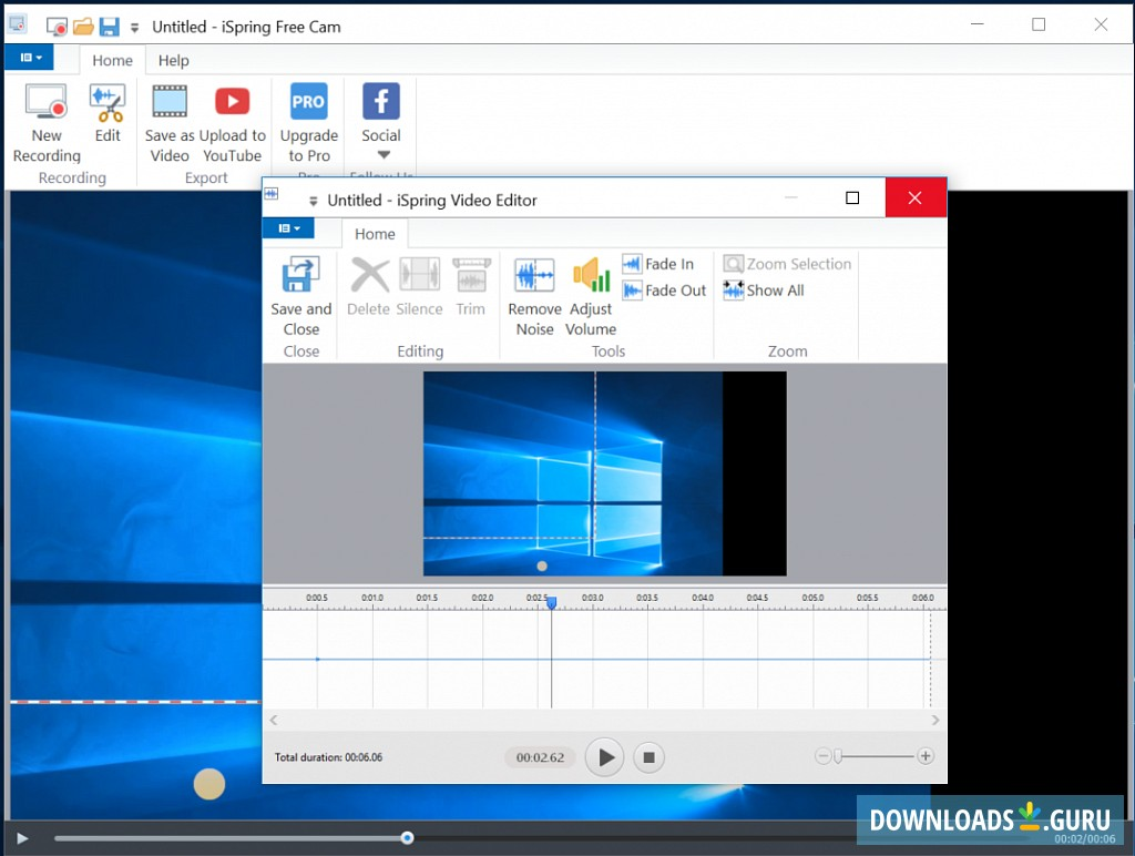 Download iSpring Free Cam for Windows 10/8/7 (Latest version
